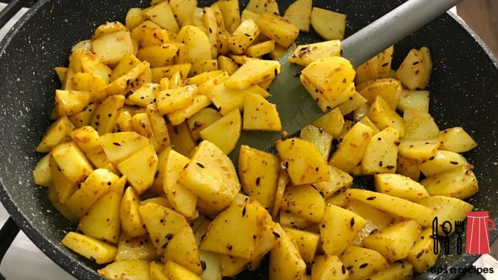 Roasted Potato dried fenugreek