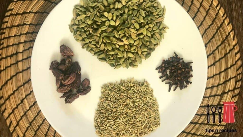 Chai masala powder recipe