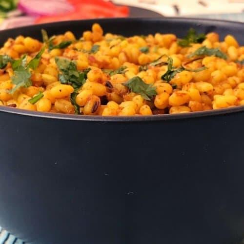 Dry white lentil recipe