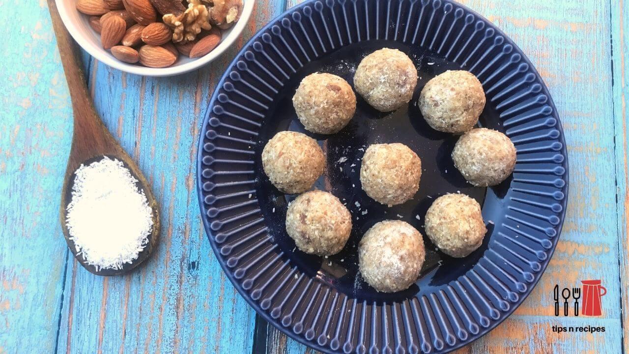 10 Mins Healthy Power Balls Recipe
