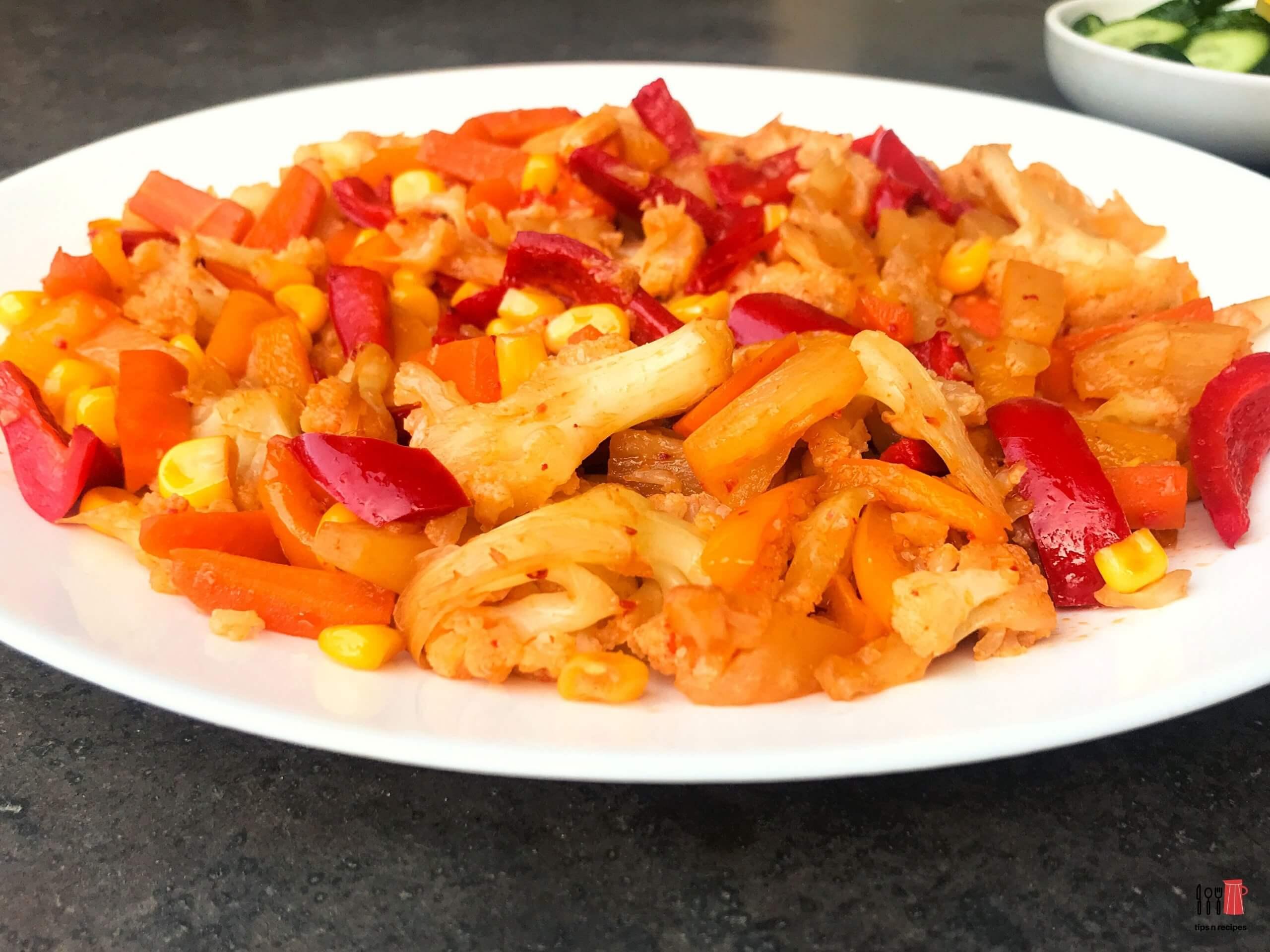 Healthy Stir Fry Veggies Recipe
