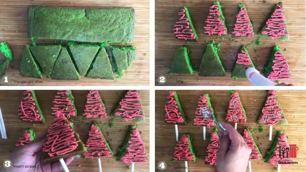 mini tree cakes
